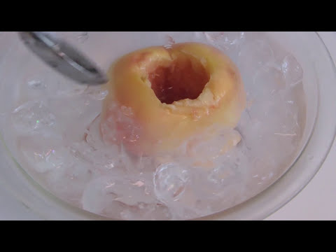 【ASMR】How to make Whole Peach Cream Puff