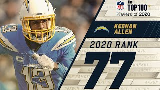 #77: Keenan Allen (WR, Chargers) | Top 100 NFL Players of 2020