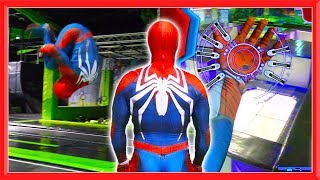 Spiderman POV in Real Life | Flips, Parkour & Trampolining