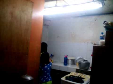 girl washing the dish sings chandelier   youtube