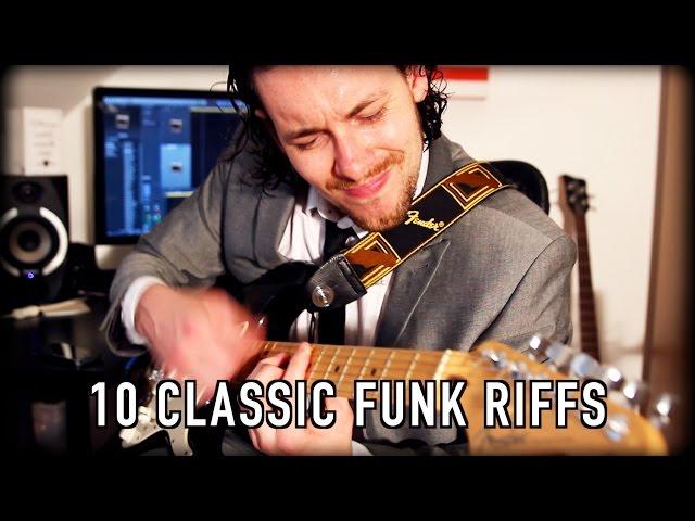 10 Classic Funk Riffs!