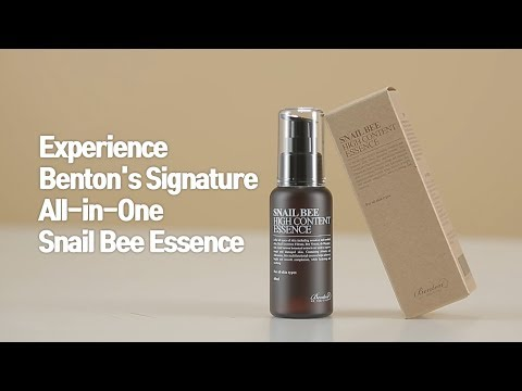 Benton Snail Bee High Content Essence (English Ver.)