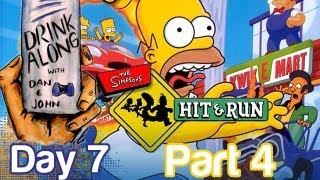 The Simpsons: Hit and Run Drink Along Gameplay Part 4 (Day 7) | WikiGameGuides