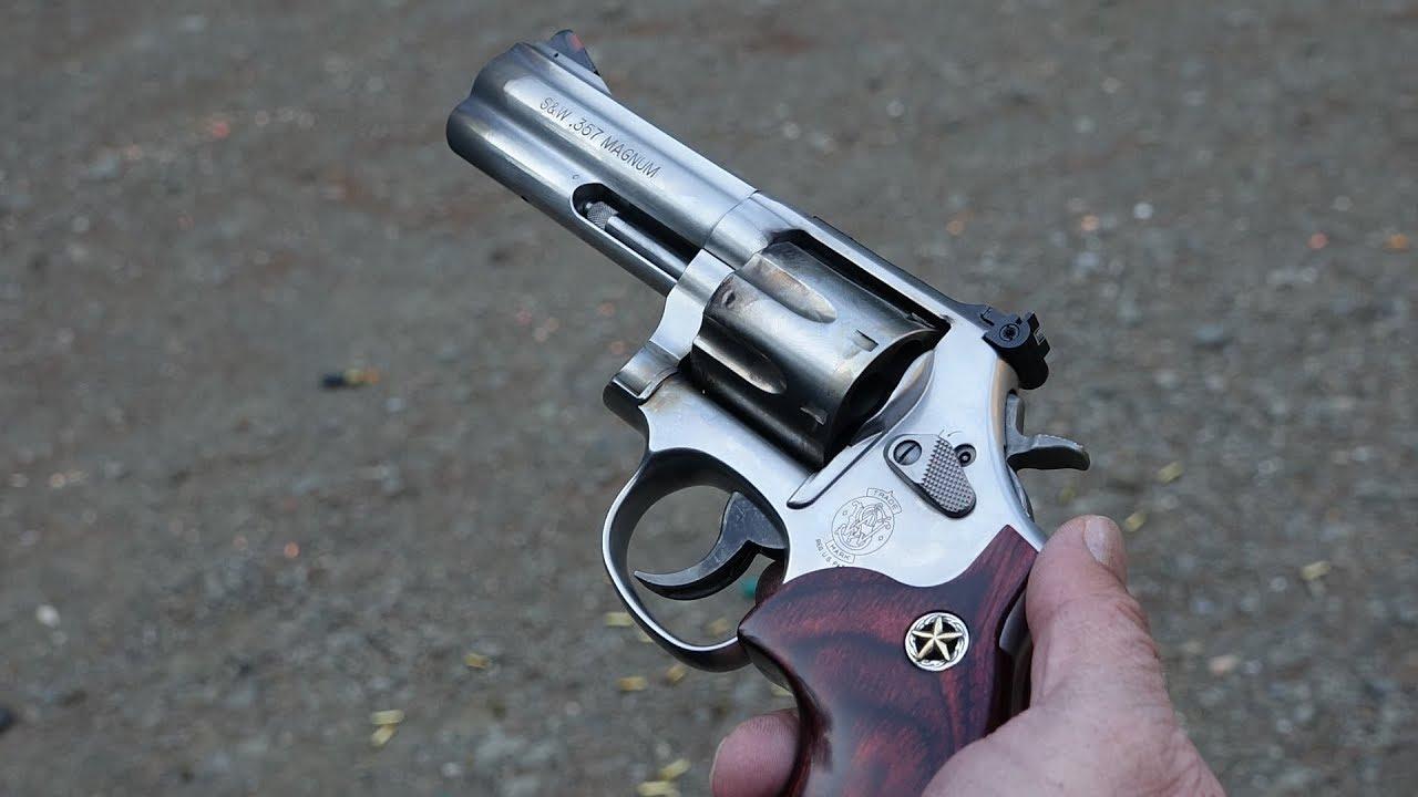 Smith Wesson 686 7 Shot 357 Magnum Revolver Review
