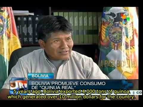 Bolivia: producer of Royal Quinoa - most complete food source
