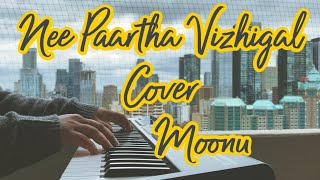 Nee Paartha Vizhigal Piano Cover | Moonu | Dhanush,Shruti | Anirudh Ravichander | Adithyha Jayakumar