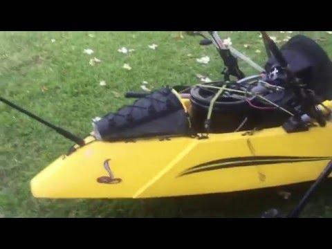 Ultimate Kayak Fishing Setup For Trolling On Cobra Fish N Dive Kayak