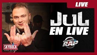 Jul en live dans Planète Rap !