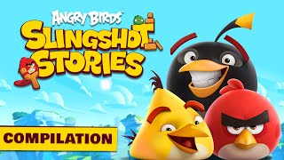 Angry Birds Slingshot Stories | Compilation - S1 Ep1-5
