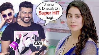 Arjun Kapoor Openly Shows LOVE & SUPPORT For Sridevi's Daughter Jhanvi Kapoor's First Film Dhadak