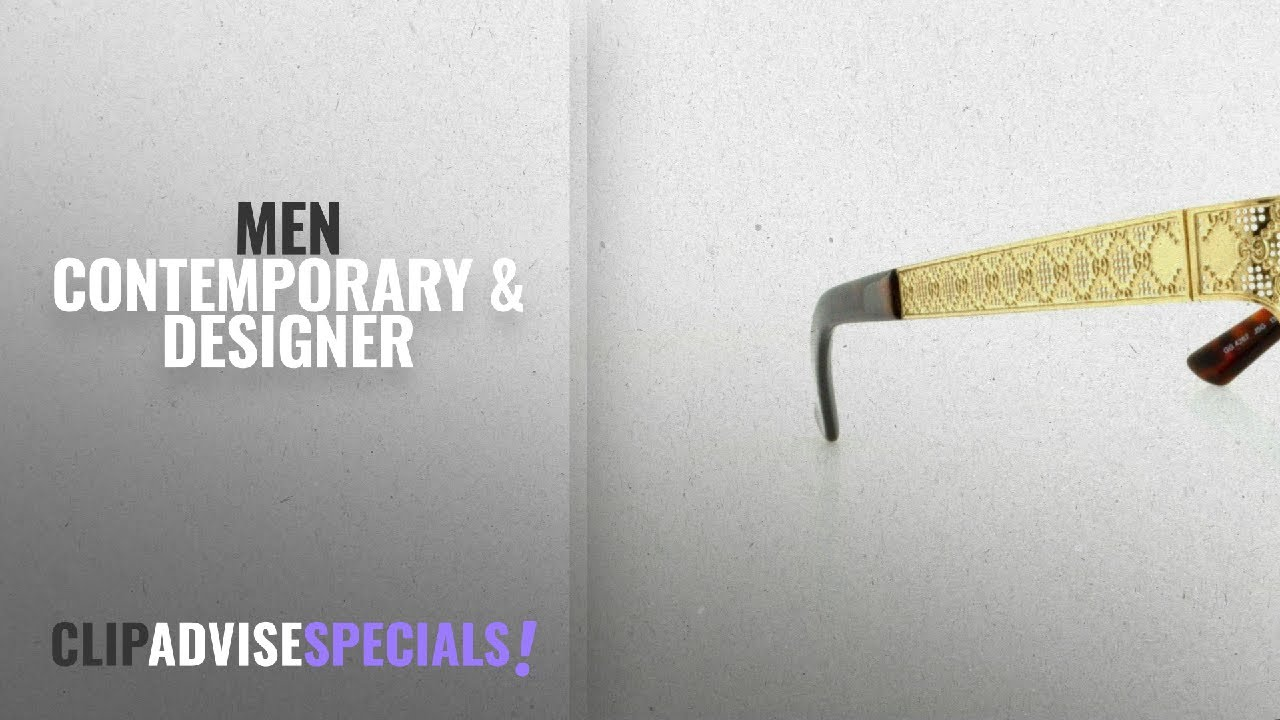 Gucci men contemporary designer winter gucci eyeglasses gold jpg 1280x720 Gucci  eyeglasses men 98b5ae45a88