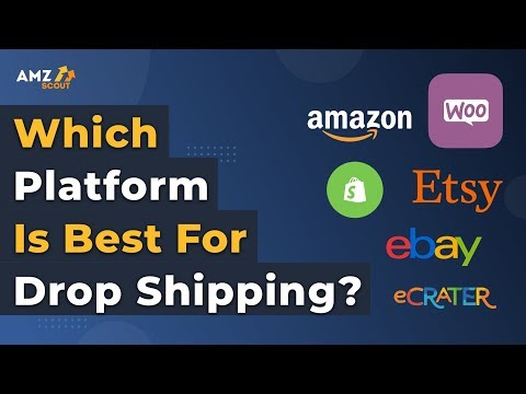 Drop Shipping For Beginners 2019 Which Platform Amazon Ecrater Shopify Ebay Etsy Woocomerce Youtube