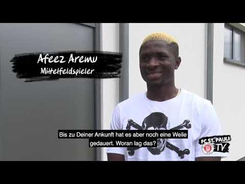 Download Neuzugang Afeez Aremu im Interview | FC St. Pauli TV