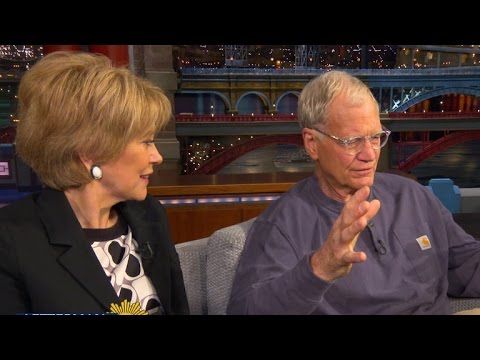 Jane Pauley gets candid with David Letterman