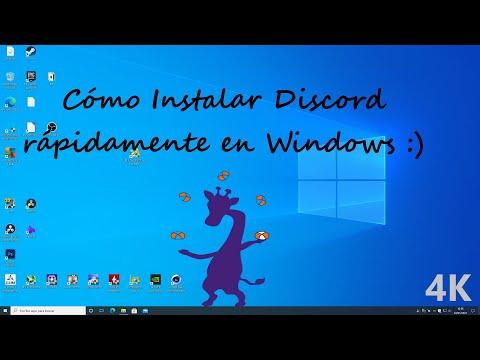 Como descargar DISCORD 🔝última versión para PC | 2021
