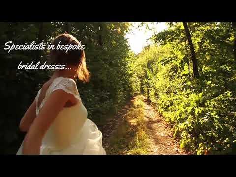 Bride running away. Hold my hand and run