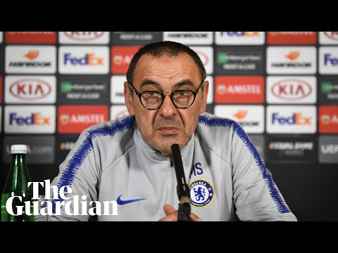 If my Chelsea future hinges on winning final, sack me now, says Maurizio Sarri