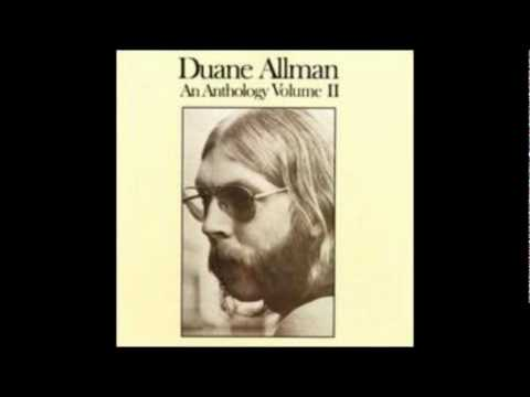 Duane Allman - Walk On Gilded Splinters (Studio Version)