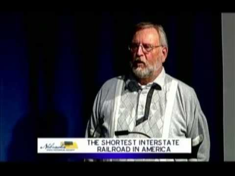 The Shortest Interstate Railroad in America by Richard Schmeling