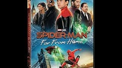 Opening To Spider-Man:Far From Home 2019 DVD