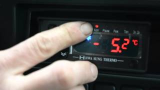 Работа пульта управления рефрижераторной установки H-THERMO(Управление температурным режимом на рефрижераторной установке H-THERMO., 2015-11-16T13:12:48.000Z)