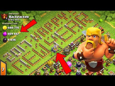 FUNNIEST BASE EVER!  TH11 Farm to Max | Clash of Clans