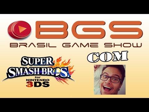 #BGS2014 - Smash Bros 3DS com Guilherme Damiani !!!
