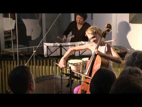 "Christine Rauh - Poulenc: ""Les chemins de l'amour"" for cello + marimba"