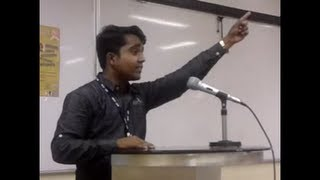 Akash Mohite's Marathi speech at MIT Pune