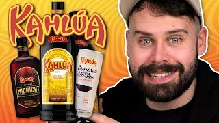 Irish People Try Kahlua Rum Liqueurs