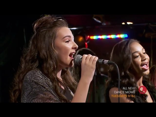 Dance Moms | Nia And Kendall Sing Cry Live