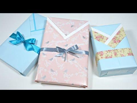 Ideas para envolver regalos 15 envolver libros en forma - Envolver libros de forma original ...