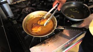 How To Saute Chicken In Red Wine & Mustard Sauce : Cooking Delicious Recipes