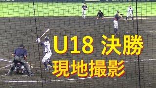 侍ジャパン 2015 U18 決勝 日本vsアメリカ【現地撮影】U-18 Baseball World Cup Final