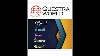 Questra World | Official E-mail From Questra World