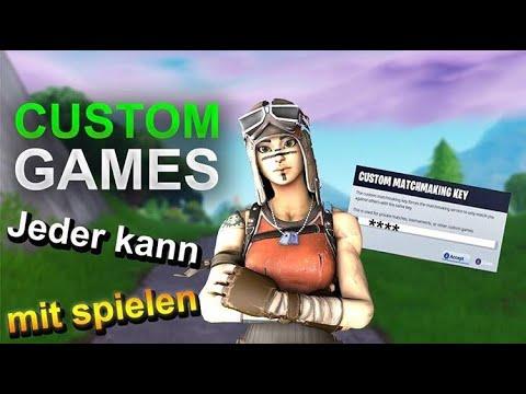 💥CUSTOM GAMES💥 / Creator Code: ByRain |Fortnite Deutsch