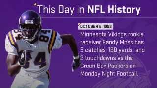 Vikings Rookie Randy Moss Torches Packers on MNF   This Day in NFL History (10/5/98)