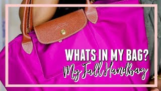 Whats in My Longchamp Bag?