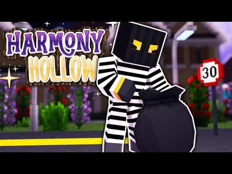 DECORATING WITH STOLEN ITEMS - Minecraft Harmony Hollow