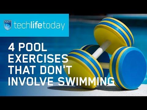 4 pool exercises that don't involve swimming
