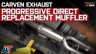 Carven Exhaust 09-18 RAM Truck 1500 Direct Fit Muffler Replacement Progressive