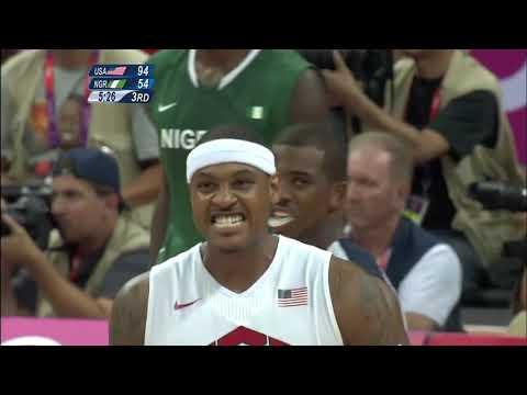 USA V Nigeria London 2012 Olympics Highlights