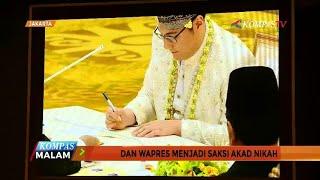 Jokowi-JK Jadi Saksi Akad Nikah Anak Komjen BW dan BG