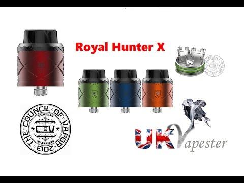 NEW Council Of Vapor Royal Hunter X   Hybrid Deck!