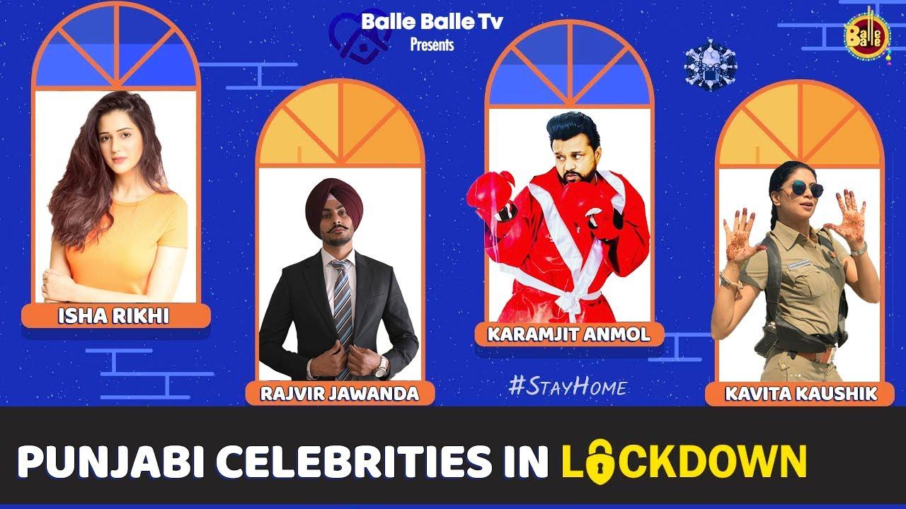 Punjabi Celebrities in Lockdown || Balle Balle TV || 2020