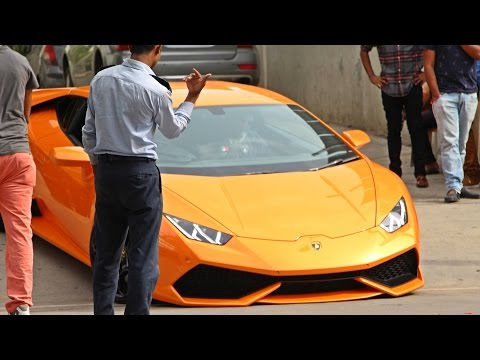 LAMBORGHINIS IN INDIA (Bangalore) 2016