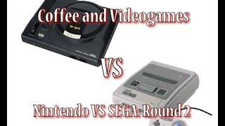 Nintendo Vs Sega Round 2! Snes Vs Mega Drive/genesis: Coffee And Video Games