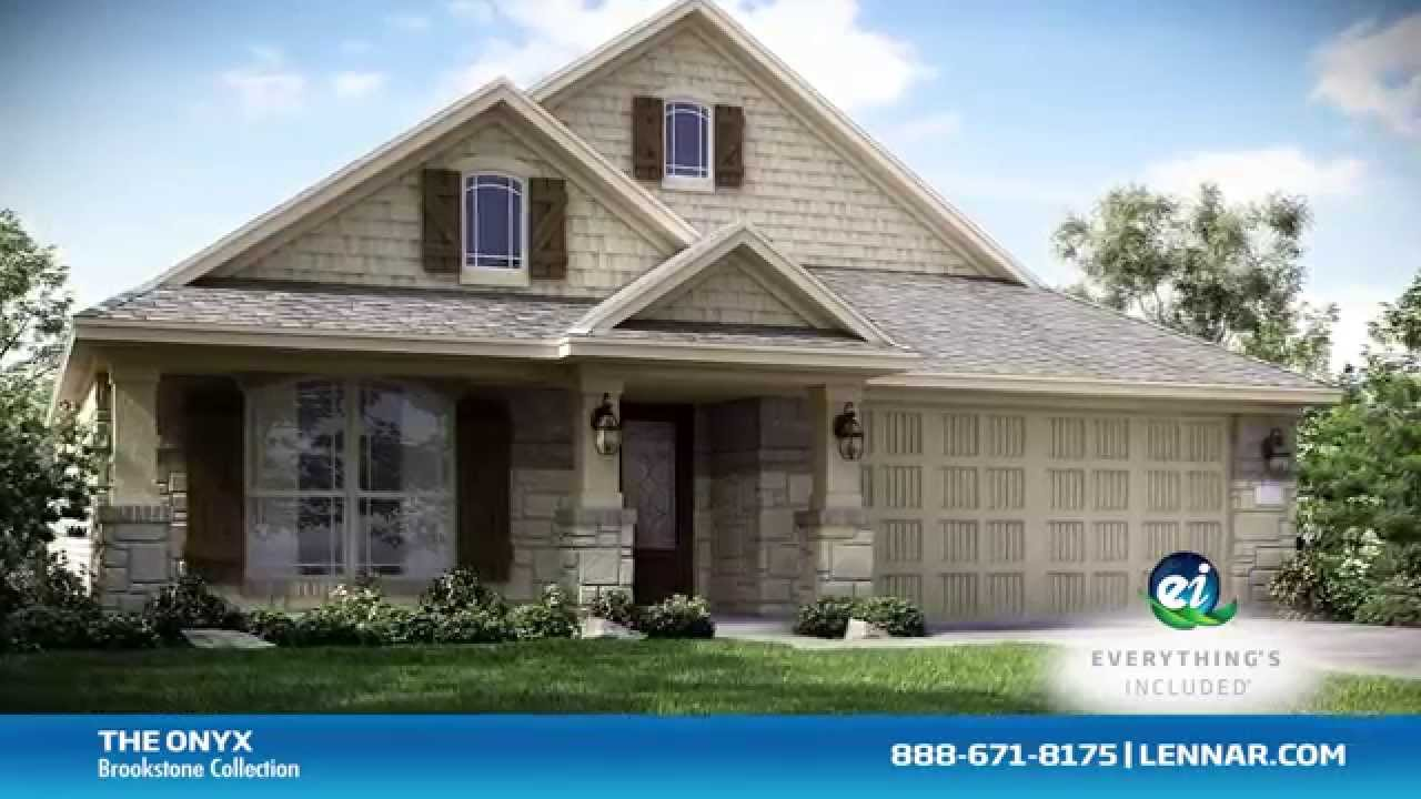 The Onyx New Home Tour Lennar Houston Youtube