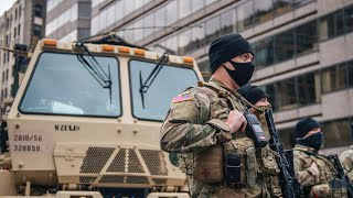 Inauguration day: A look at security preparations in Washington, D.C.