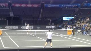 John McEnroe vs Jim Courier at Power Share Series OKC 2014 (final)